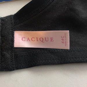 Cacique Intimates & Sleepwear - Cacique l Plus Size Black Plunge Bra